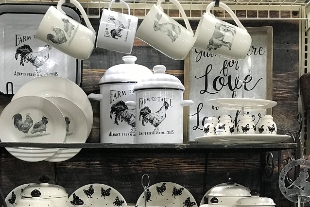 Home dishware and giftware!